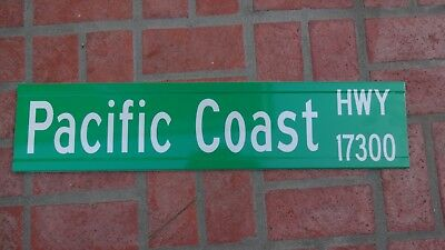 "PACIFIC COAST HIGHWAY STREET SIGN PCH 1 MALIBU California Beach 30""X6.75""  for sale  Carlsbad"