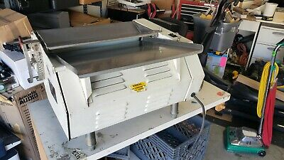 Anets Sdr-4 Single Pass Table Top Dough Sheeter