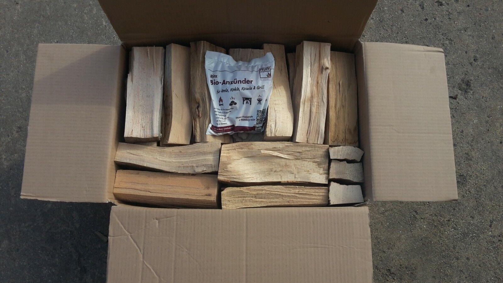 Kaminholz // Brennholz Birke 30 kg vorgelagert,frisch