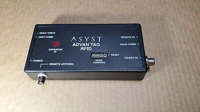 Asyst 9700-6584-01 Advantag Rfid Controller Atr-9000 Rev 004 60 Day Warranty