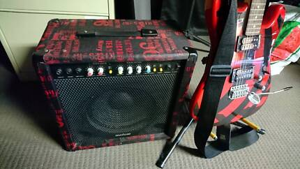Electric Guitar and 50 watt amp Chermside West Brisbane North East Preview