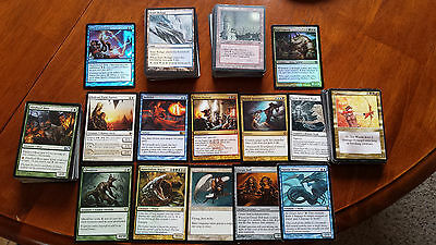 200 Magic the gathering cards Old and new rares and uncommons included lot cny