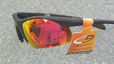 Champion Polarized Sport Wrap Designer Sport Sunglsses New with tags, used for sale  Shipping to India