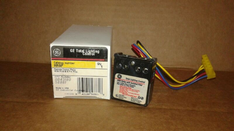 General Electric RR9P Lighting Panel Relay Switch - New in Box