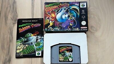 Space Station Silicon Valley Nintendo 64 N64 PAL Complete in Box CIB