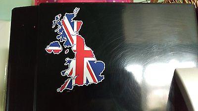 Union Jack British Isles Sticker Decal x1 Vinyl Printed UK GB Great Britain