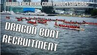 Dragon Boat team recruitment 2019 Calgary