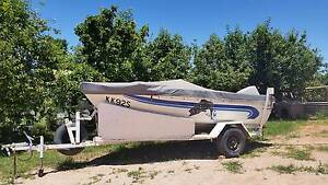 414 Stacer seahawk Boat with 40 housepower Yamaha Motor Renmark Renmark Paringa Preview