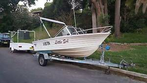 15 Ft FISHING BOAT very reliable loads of extras! Lane Cove West Lane Cove Area Preview