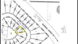 LARGE CORNER LOT IN NEW SUB DIVISION.