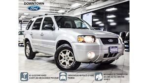 2005 Ford Escape Limited, AWD, Leather, Moonroof, Tow Pack, Low