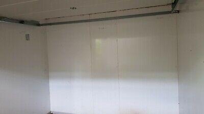 Kühlzelle Kühlhaus Kühlraum 150x150x201 cm mit Edelstahlboden Wandstärke 80 mm