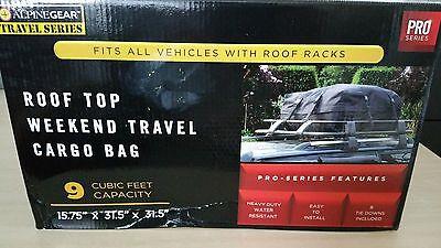 Cargo Bag Racks Car Travel 9 Cubic Feet  Roof Top Weather Resistant Heavy Duty Heavy Bag Racks