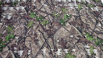 Camo Mesh Leaf Fabric HTC Spring True Timber 59