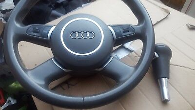 Audi A8 MULTI-FUNCTION STEERING WHEEL WITH AIRBAG AND MATCHING SHIFT KNOB