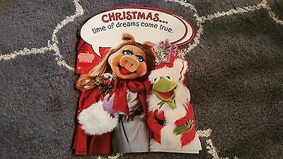 Vintage MUPPETS Christmas WALL DECORATION Miss Piggy Kermit 1977 HALLMARK ()