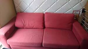 Red Sofa Double Bed Doncaster East Manningham Area Preview