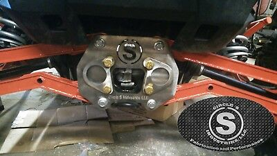 Fits Polaris RZR,  Radius Rod Plate, DIY Custom Rear bumper Plate Heavy -