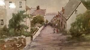 John R. Upton Watercolour Painting Penshurst Hurstville Area Preview