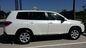 2012 Toyota Kluger with Leather Seats, Low kms, 5str,Full History Rowville Knox Area Preview