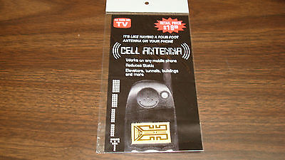 For Cell Phone:SIGNAL ANTENNA BOOSTER Sticker for Better Reception AS SEEN ON