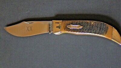 VINTAGE 1990 CASE XX CLASP KNIFE - 61072 ONE OF 380 MADE!!