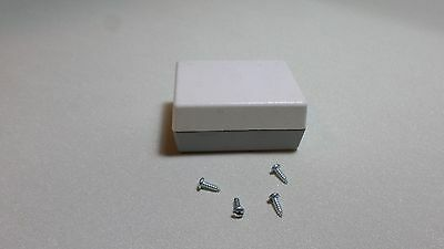 Electronic Plastic Project Box Enclosure Unibox 110 2.75x2x1.38 Gray