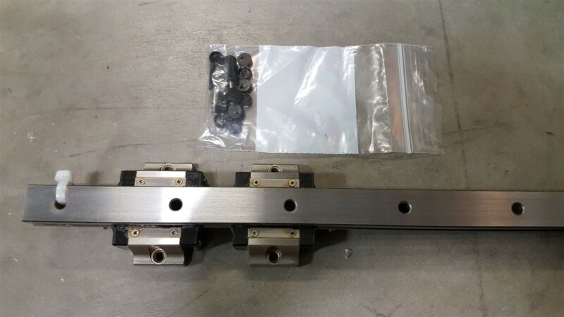 MiSUMi SVWT28 Linear Bearing Guide 2-Block w/Rail 1720mm x 20mm x 15.5mm