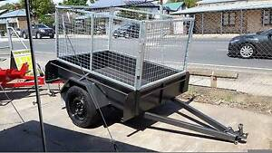 6X4 CAGED TRAILER Adelaide CBD Adelaide City Preview