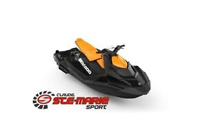 2018 Sea-Doo/BRP SPARK 3 UP 900 HO avec iBR et ensemble commodit