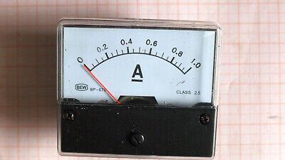 Amperemeter DC 1A, vier Stück Modell BP670 (Ampere-meter)