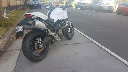 2014 Pearl White Ducati Monster 659 ABS (Learner Approved)