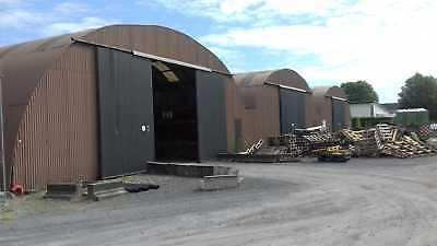 Runddachhalle Rundbogenhalle Stahlhalle Stahlkonstruktion Lagerhalle 15x72,5 m