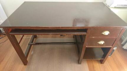 Solid timber desk FREE for pick up