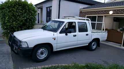 1995 Toyota Hilux RN duel cab ute