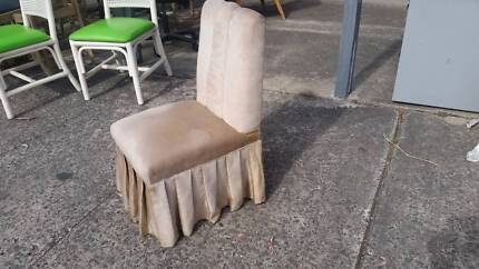 LOVELY DRESSING TABLE CHAIR*BEDROOM*BOUDOIR*COVERED*OCCASSIONAL