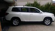2012 AWD 7 Seat Toyota Kluger Wagon with Warranty until late 2018 Golden Grove Tea Tree Gully Area Preview