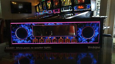 Doctor Who DW - Lighted Pinball LED Speaker Panel - BASIC