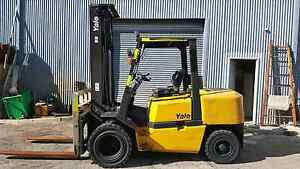 Diesel 4.5 Tonne Yale Forklift with Dual Front Wheels North Melbourne Melbourne City Preview