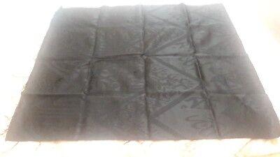 Kiswa of Kabah Makkah Mecca Black cloth 100cm x100cm Muslim holy mosque
