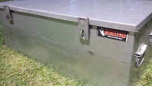 LARGE GALVANISED RHINO TOOLBOX GOOD SIZE FOR UTE TRADIE STORAGE Kallangur Pine Rivers Area Preview