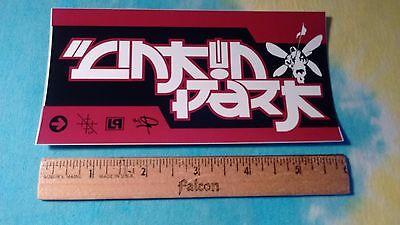 Linkin Park Logos 3 x 6 Inch Sticker