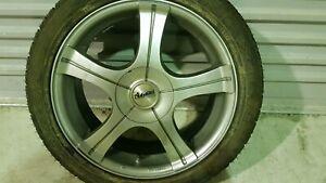 17 inch 4 stud multi fit rims & tyres