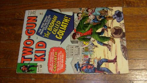 TWO GUN KID #69, vintage MARVEL WESTERN COMIC, G+