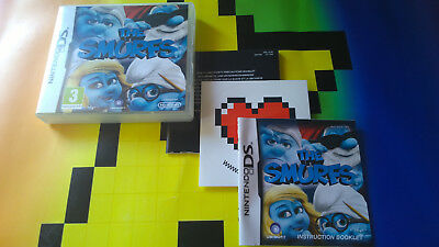 NINTENDO DS GAMEBOY THE SMURFS VIDEO GAME  3DS FREE POSTAGE
