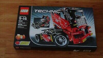 Lego Technic: Race Truck 8041 = 2 Models in 1= New
