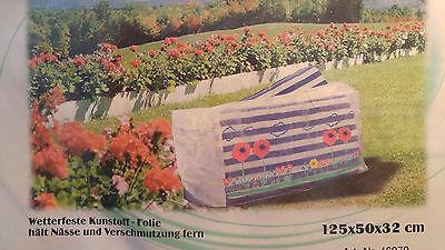 24 Stück Abdeckhaube für Gartenpolster Wetterschutzhülle