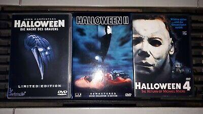 Dvd Sammlung 6x Halloween FSK 18