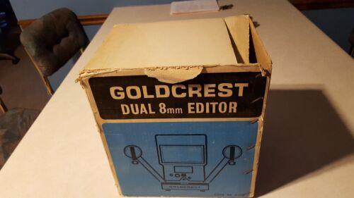 Vintage Goldcrest Dual 8mmm Movie Editor