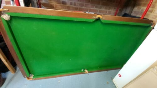 Slate snooker table